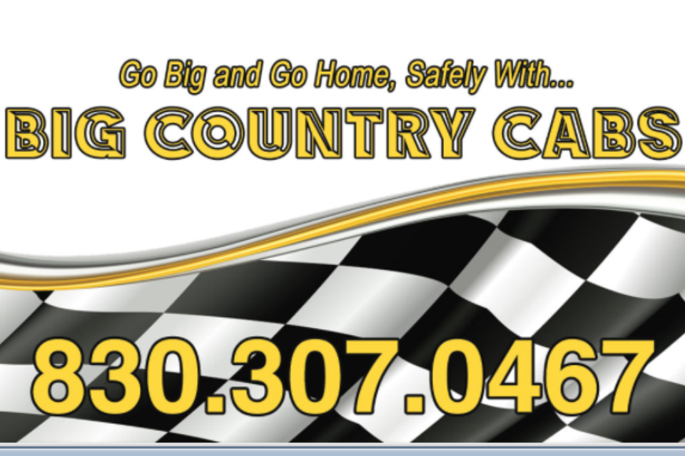 Big Country Cabs: 3188 S Us Hwy, Fredericksburg, TX