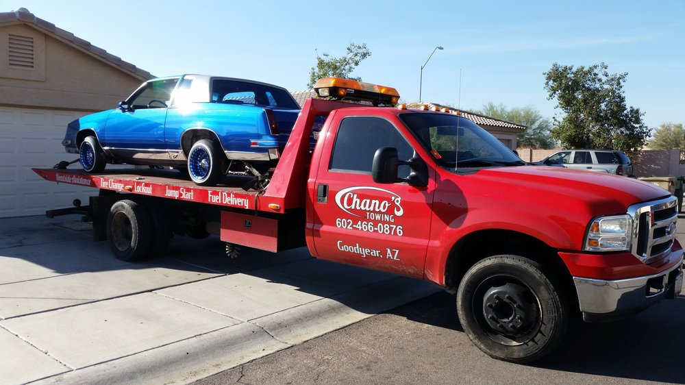 Chano's Towing: 16246 W Mesquite Dr, Goodyear, AZ