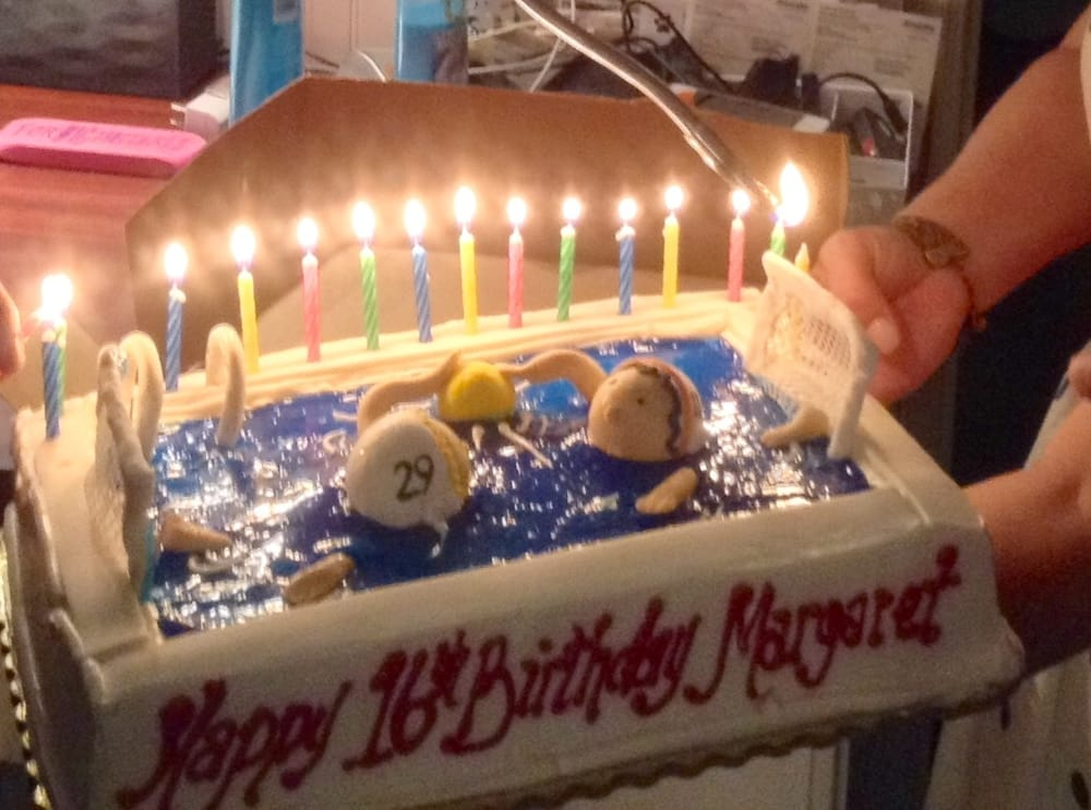 Most Amazing Birthday Cake With A Water Polo Theme For My