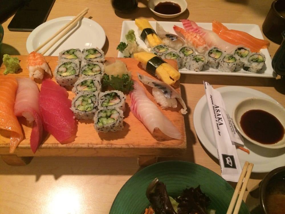 Sushi combo yelp for Asaka japanese cuisine