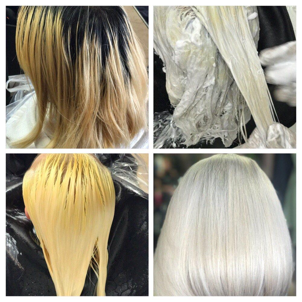 One Sit To Whitesilver Hair Asian Hair White Hair Color