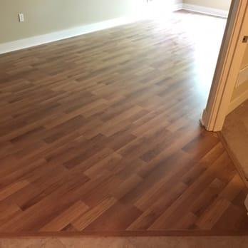 Empire Hardwood Floors my estate living auburn cherry 8mm 7 inch plank laminate wood flooring Photo Of Empire Today Seattle Wa United States Pecan Laminate Flooring With