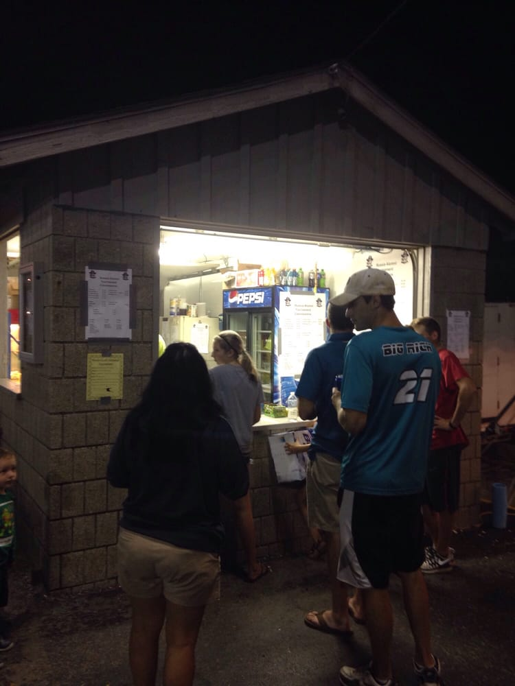 Russia Park Small Concession Stand: Raiders St, Russia, OH