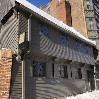 Photo Of The Paul Revere House   Boston, MA, United States. Outside Of