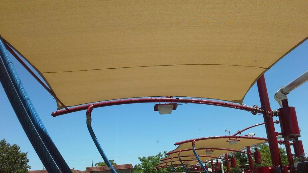 New shade screens above vacuuming area.. - Yelp
