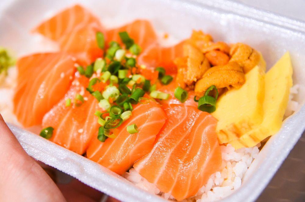 Food from Maguro Brothers Hawaii - Waikiki