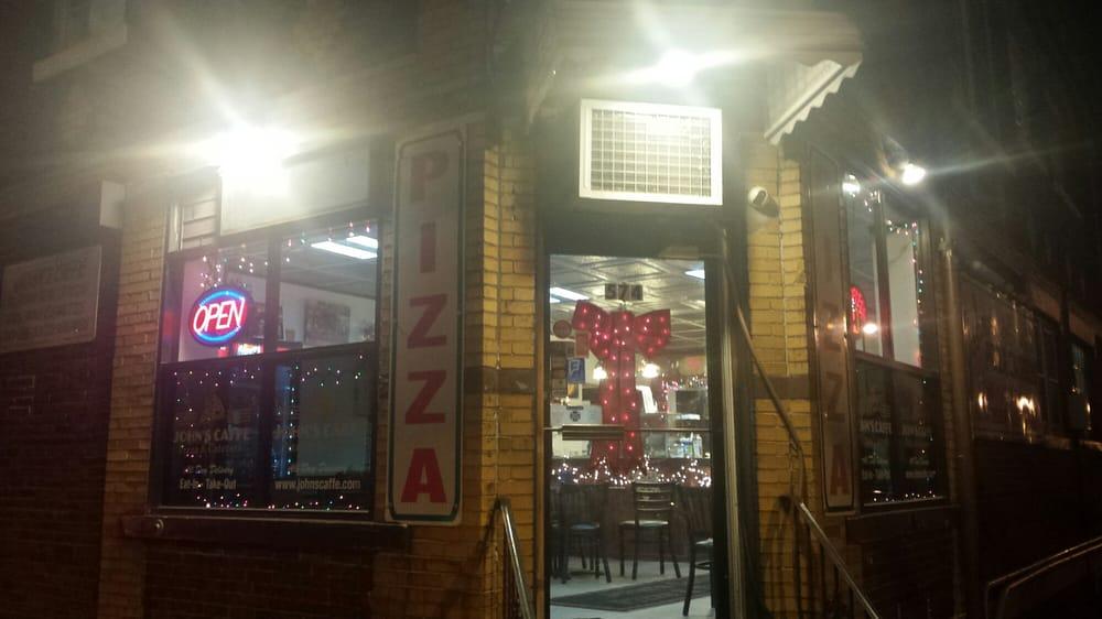 John S Pizza Cafe Menu Elizabeth Nj