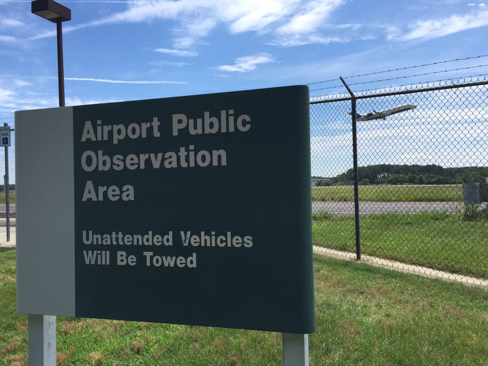 Norfolk Airport Public Observation Area