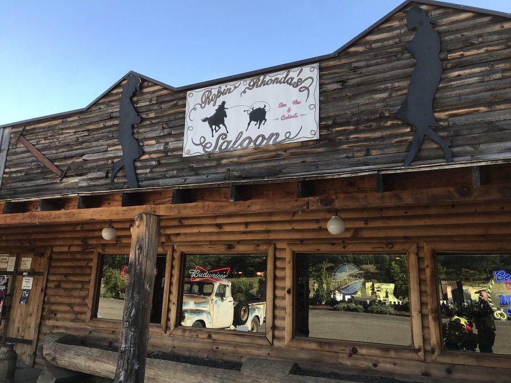 Ropin Rhonda's Saloon: Highway 3, Hayfork, CA