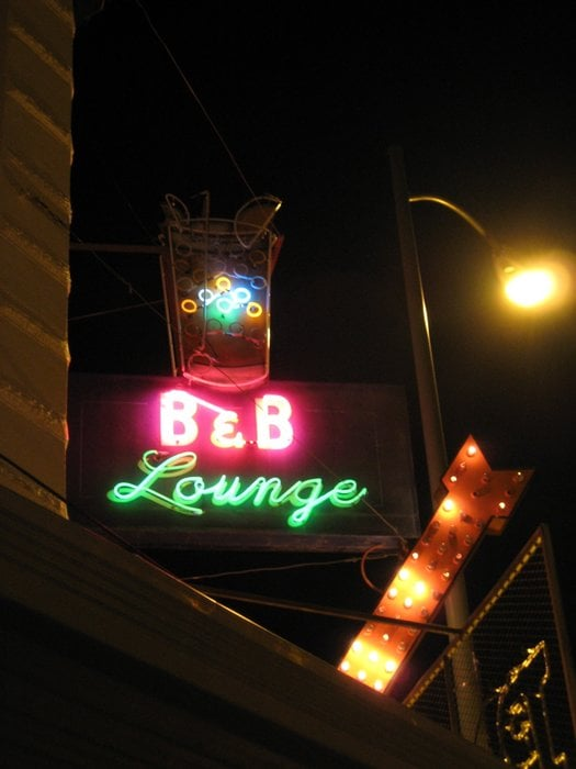 Social Spots from B & B Bar & Cocktail Lounge
