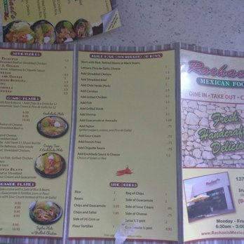 Rachaels Mexican Food 58 Photos 124 Reviews Mexican 13700
