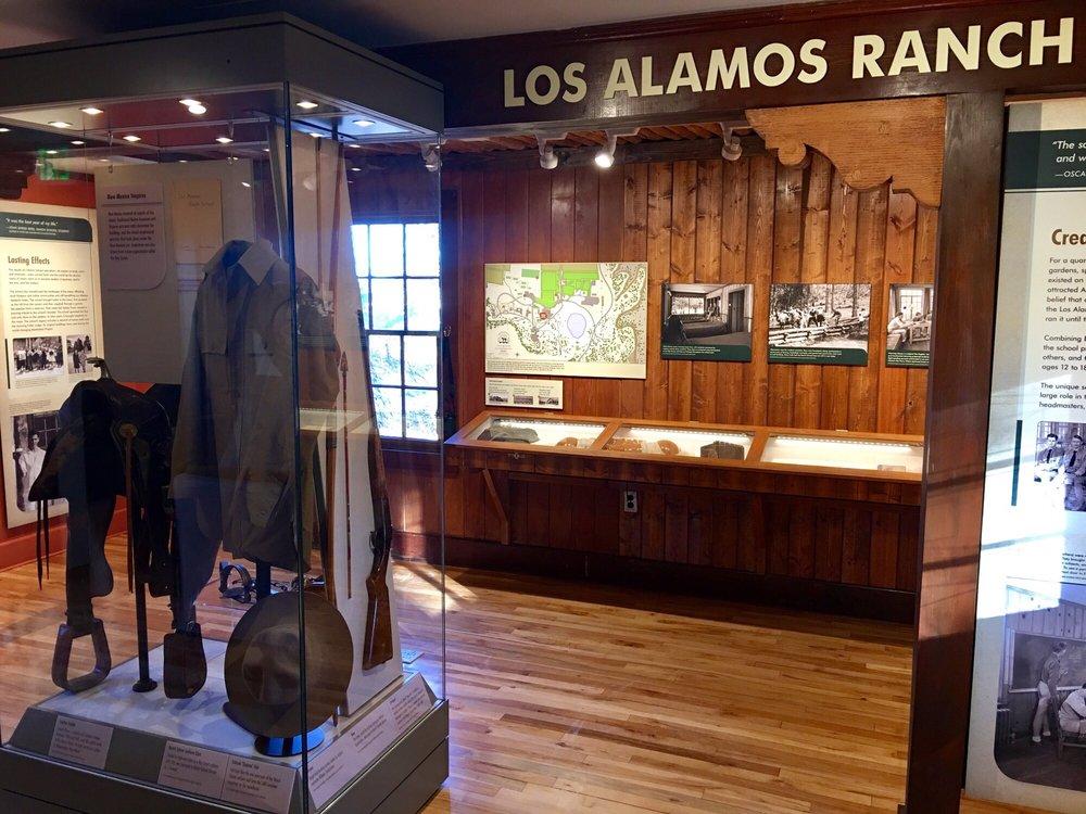 Los Alamos History Museum: 1050 Bathtub Row, Los Alamos, NM