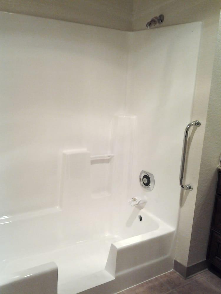 Full shower refinish and tub cut down. - Yelp