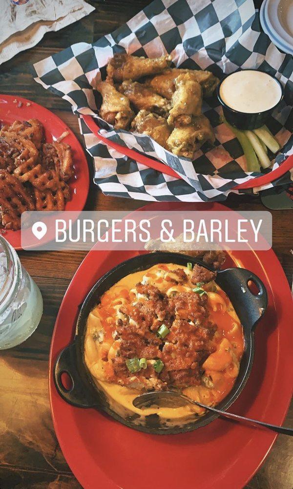 Food from Burgers & Barley