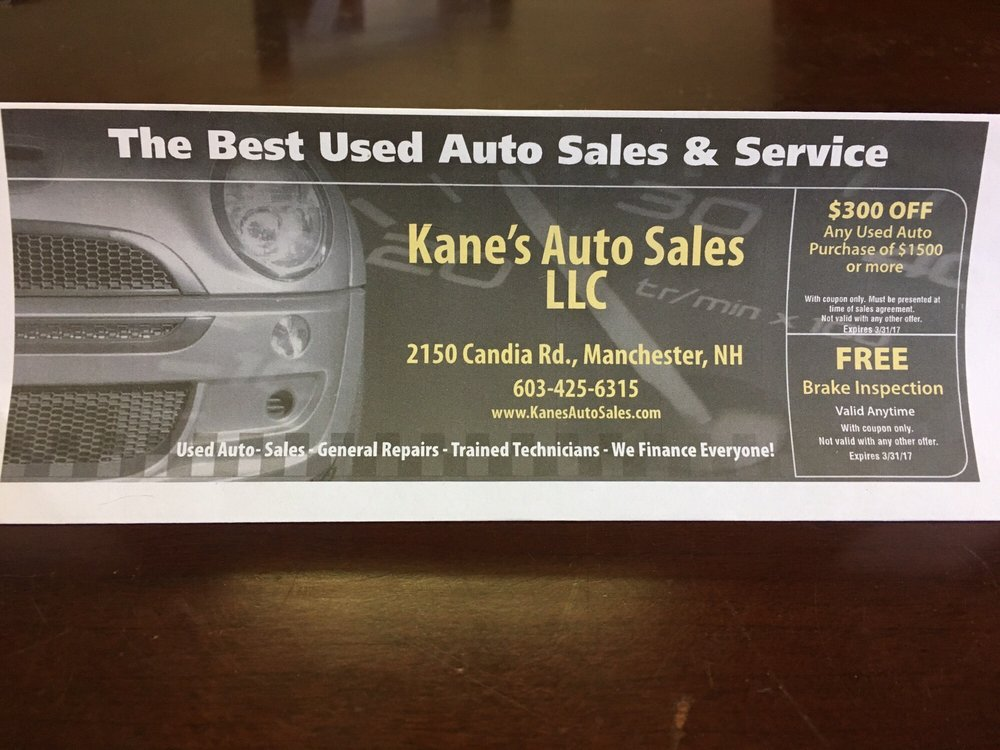 Kane\'s Auto Sales - Auto Loan Providers - 2150 Canida Rd, Manchester ...