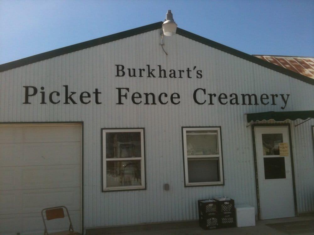 Picket Fence Creamery: 14583 S Ave, Woodward, IA