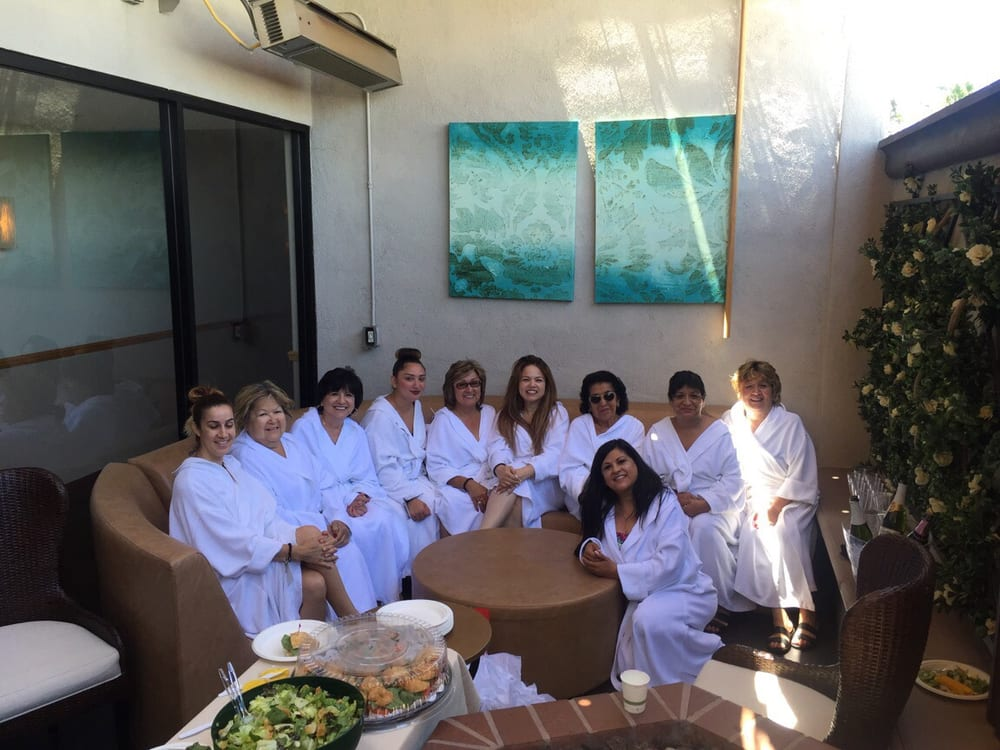 a great bachelorette gathering this spa day was awesome service