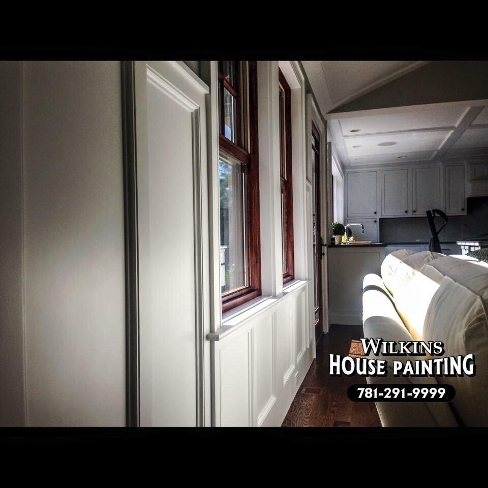 Wilkins House Painting