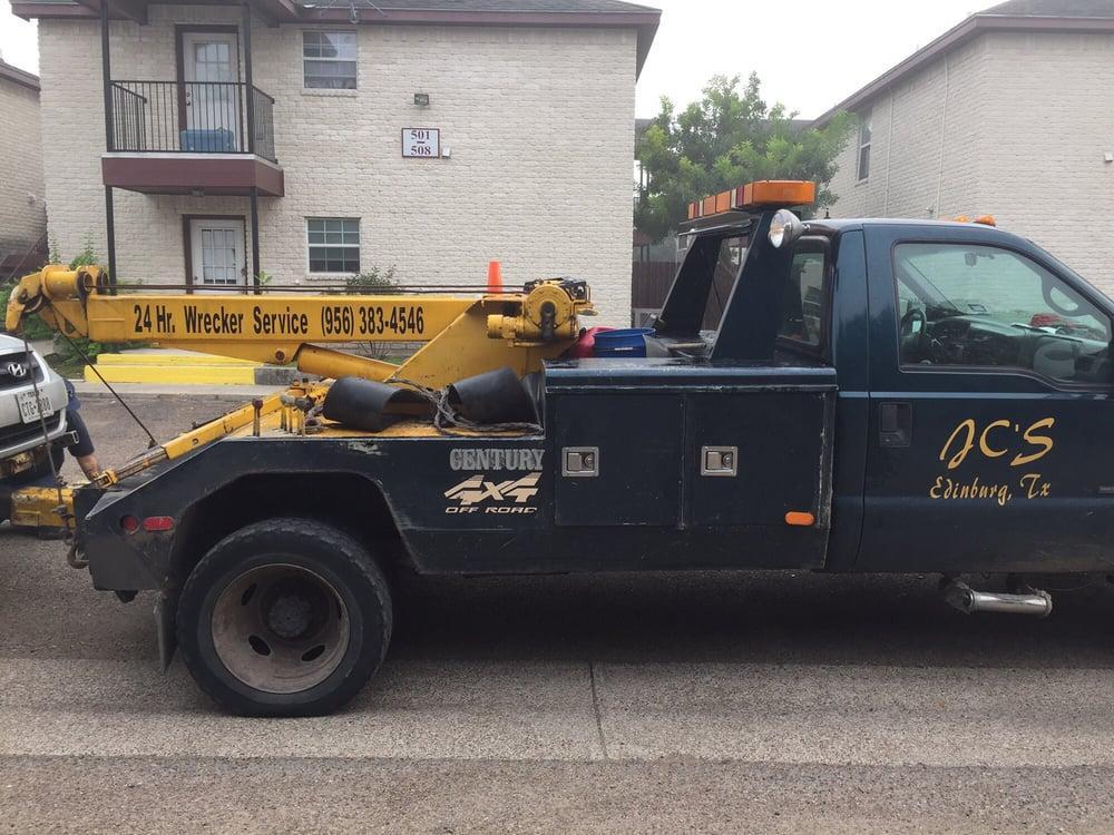 Jc's Auto Parts & Wrecker Service: 915 N 10th Ave, Edinburg, TX