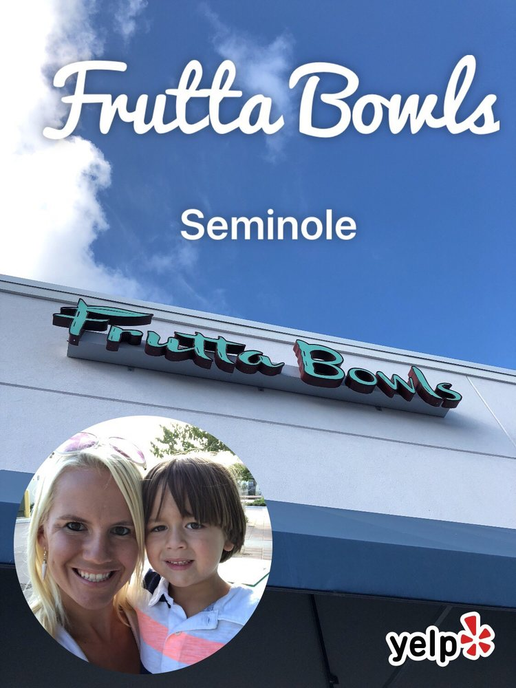 Frutta Bowls: 7839 113th St, Seminole, FL