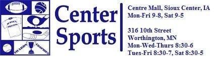 Center Sports: 316 10th St, Worthington, MN