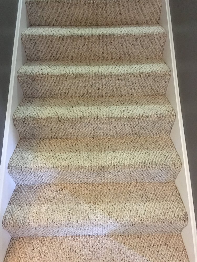 Beau The Berber Carpet On These Stairs Really Cleaned Up Nicely ...