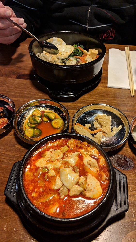 Food from Sesame Korean Grill