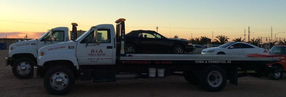 A & A Towing and Recovery: 13711 South Ave 3E, Yuma, AZ