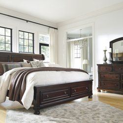 Photo Of Ashley HomeStore   Decatur, IL, United States. Porter Sleigh Bed