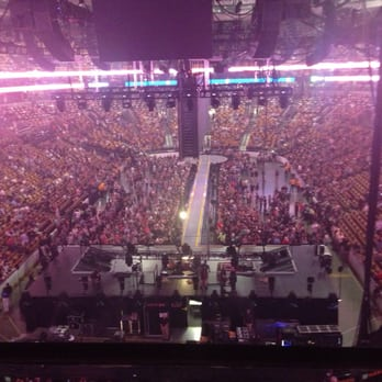 Photo Of TD Garden   Boston, MA, United States. U2 Concert, Pre