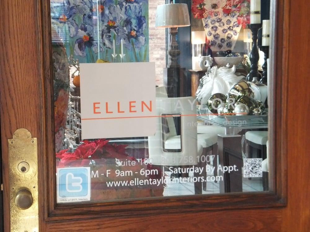 Ellen Taylor Interiors Design Interior Design 1012 Gervais St Columbia Sc Phone Number