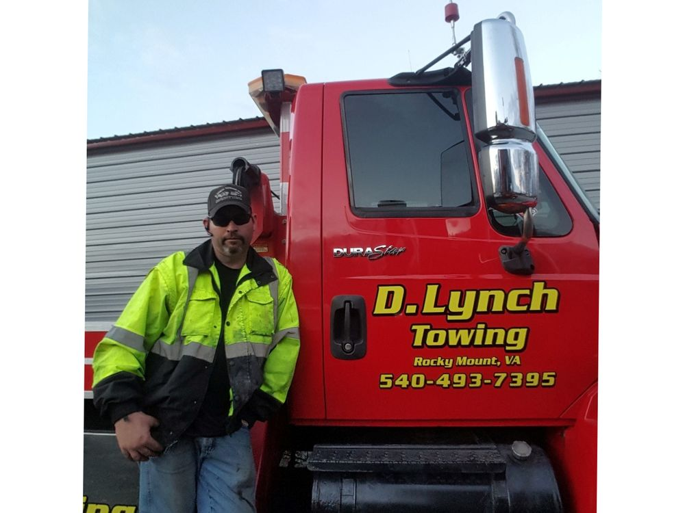 D Lynch Towing: 639 Briarcliff Ln, Rocky Mount, VA