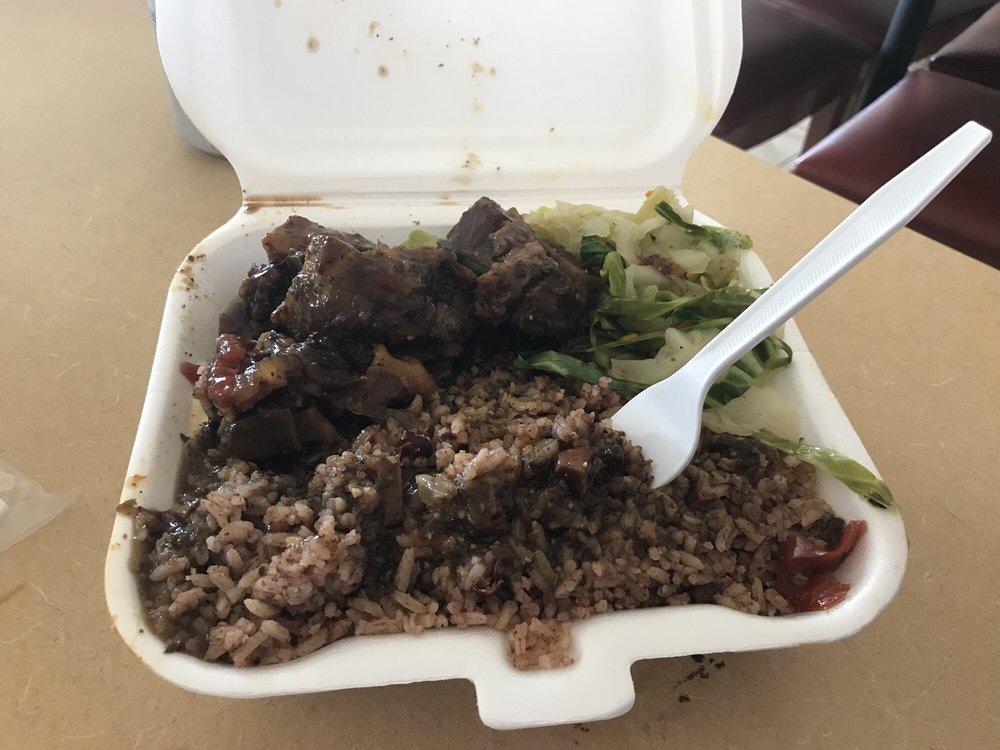 Auntie Rita's Jamaican Cuisine: 1315 S Santa Fe Ave, Salina, KS