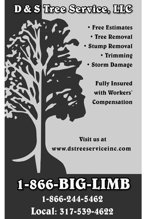 D & S Tree Service: Mooresville, IN