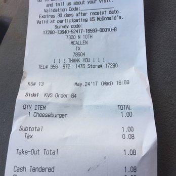 McDonald's - 81 Photos - Burgers - 7320 N 10th, McAllen, TX