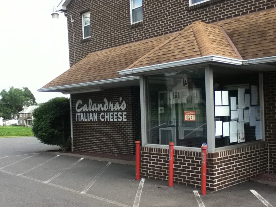 Calandra's Cheese: 350 E Lawn Rd, Nazareth, PA