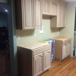 Photo Of Millbrook Kitchens   Paramount, CA, United States. Just Before  Staining Full ... Nice Look