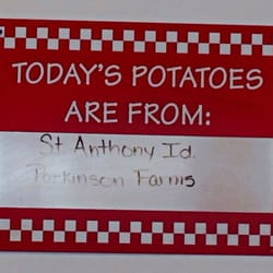 P O Of Five Guys Deptford Nj United States Todays Potatoes