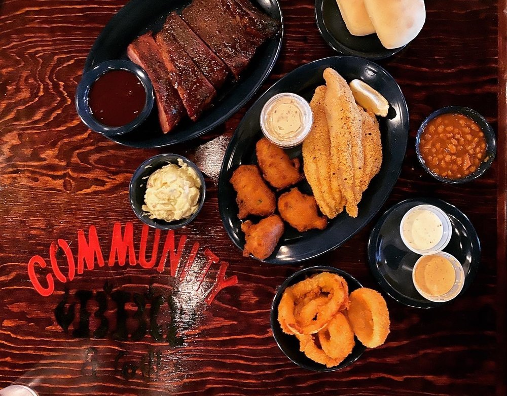 Community BBQ and Grill: 7010 Hwy 78, Sachse, TX