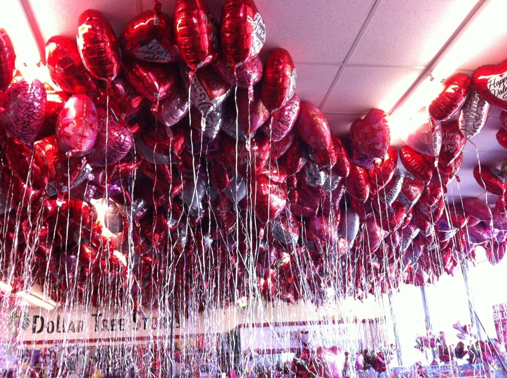 Photo Of Dollar Tree   Seaside, CA, United States. Happy Valentines Day  Balloons