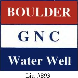 Boulder / GNC Water Well: Lafayette, CO