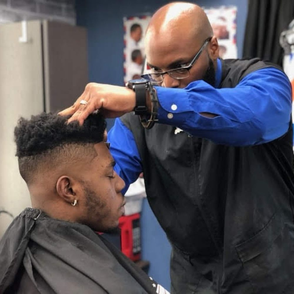 Dapper Dre's Distinguished Barbers: 724 E US Hwy 80, Forney, TX