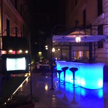 Photo Of Rose Garden Palace   Rome, Roma, Italy. Roseto Restaurant At Night