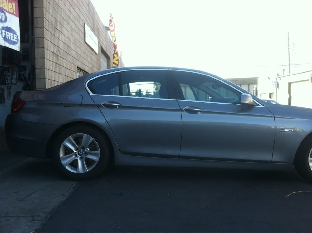 2013 bmw 535i with 3m crystalline 60 on sides and rear yelp. Black Bedroom Furniture Sets. Home Design Ideas