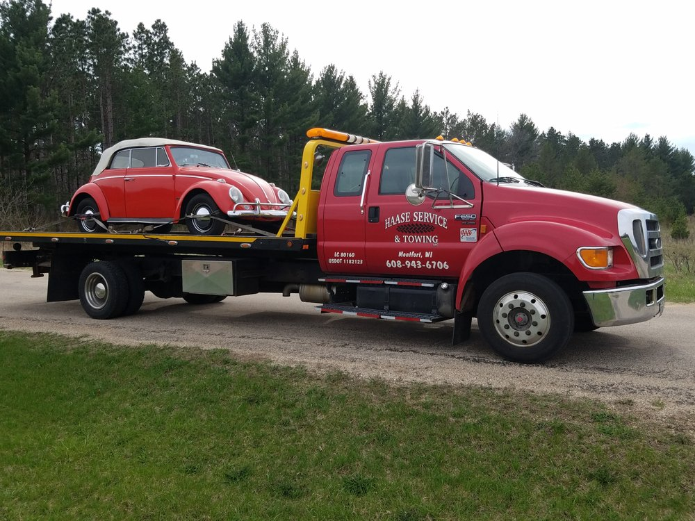 Photo of Haase Service & Towing: Montfort, WI