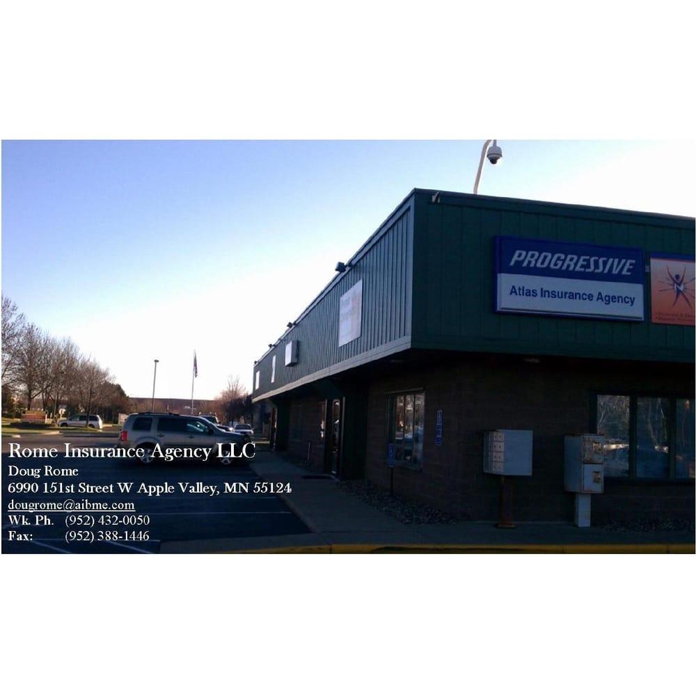 Rome Insurance Agency 6990 151st St W Apple Valley Mn 55124