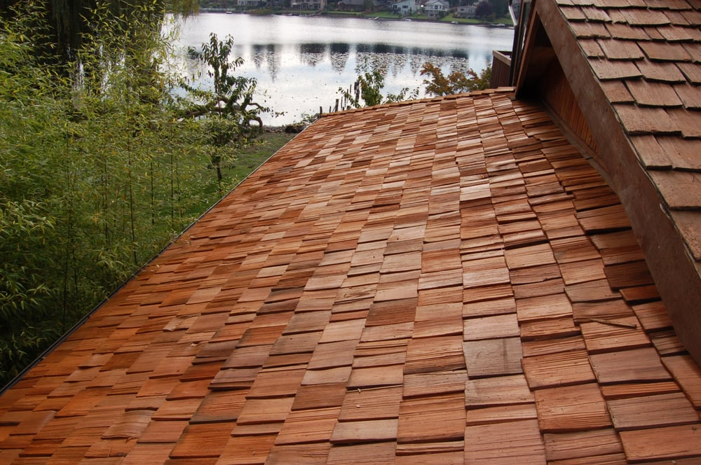 Cedar Shake Roof After Cleaning Yelp