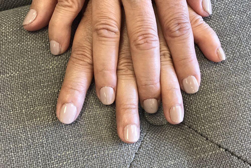 My mom\'s gel manicure. - Yelp
