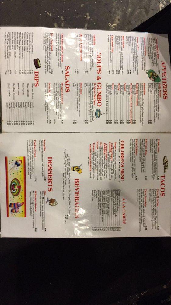 El Cajuns La-Mex: 2639 Hwy 182, Raceland, LA