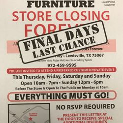 All Must Go Furniture Liquidators   Furniture Stores   2424 ...